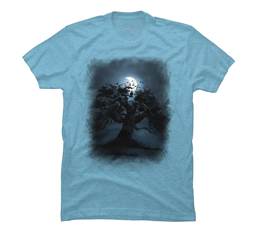 522f9ba92 Amazon.com: Moonlight II Men's Graphic T Shirt - Design By Humans: Clothing