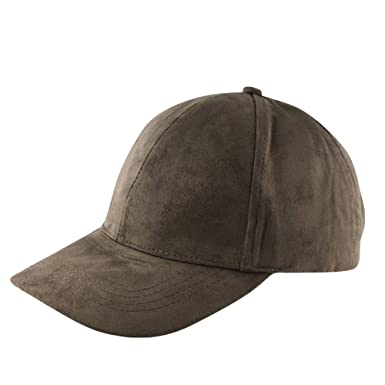 soft mesh baseball caps leather suede hat cap army green cotton brim