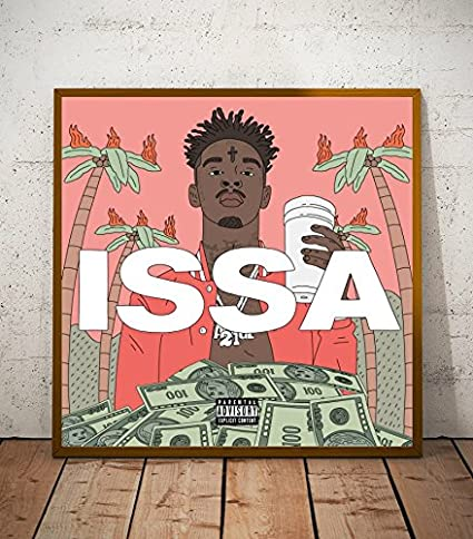 Amazon.com: 21 Savage Issa Album Limited Poster Artwork ...