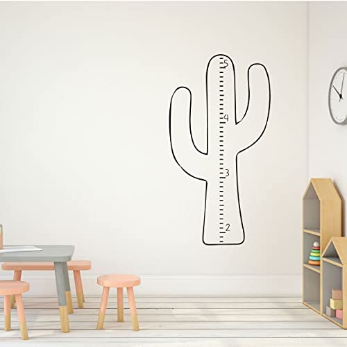 Amazon Growth Chart Wall Decal Cactus Decor Children