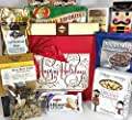 Christmas Jumbo Premium Gift Box Basket - Send the Best this Holiday Season! - Fine Chocolates, Nuts, Candy, Cocoa, Pretzels, Cookies, Coffee, and More - Gourmet Seasons Greetings - Prime