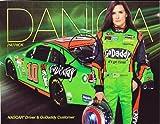 AUTOGRAPHED 2014 Danica Patrick #10 GODADDY RACING (Stewart-Haas) 9X11 SIGNED NASCAR Hero Card w/ COA