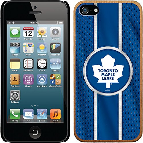 Coveroo CandyShell Card Cell Phone Case for iPhone 5/5s - Toronto Maple Leafs Jersey (Maple Case Toronto 5 Leafs Iphone)