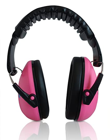 HearTek Kids Earmuffs Hearing Protection (KIDS, YOUNG ADULTS, WOMEN)