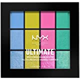 NYX PROFESSIONAL MAKEUP Ultimate Multi-Finish Shadow Palette, Eyeshadow Palette, Electric