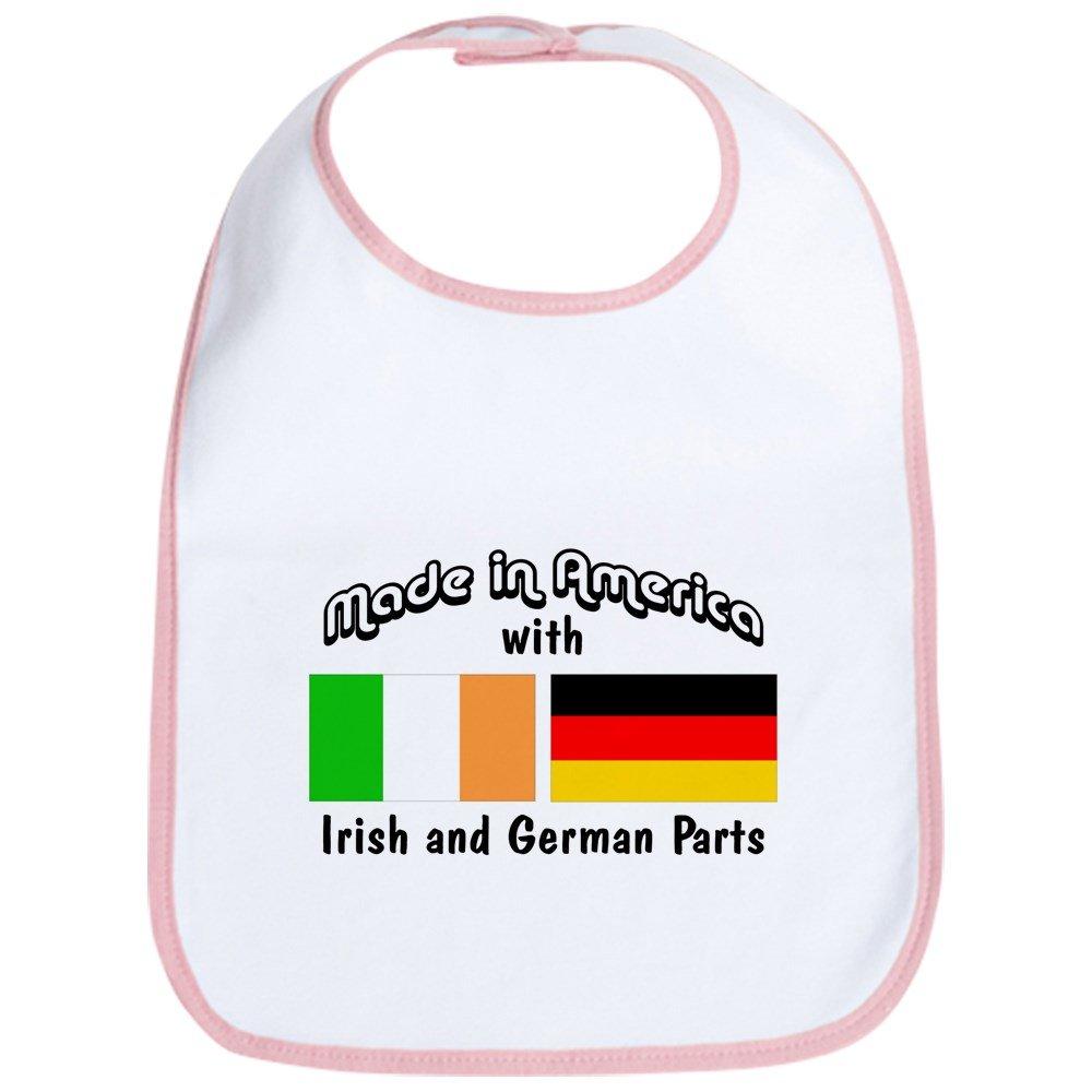 CafePress - Irish & German Parts Bib - Cute Cloth Baby Bib, Toddler Bib