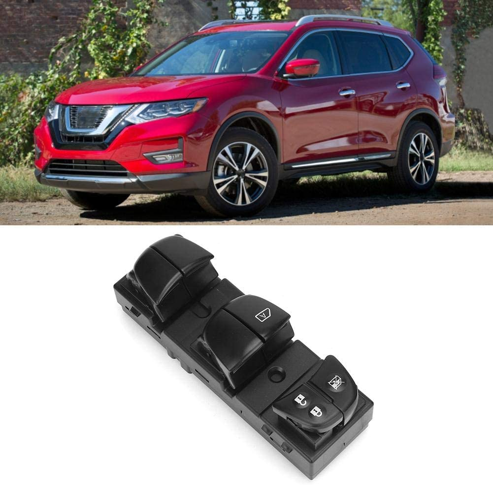 Power Window Master Control Switch Car Left Front Replacement Accessory 25401-4BA5A Fit for Nissan ROGUE 2014-2017