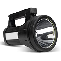 ERAY Linterna LED Recargable 15000 Lúmenes, Linternas LED Alta Potencia 3 en 1 10800mAh/ IPX4 Impermeable/ 6 Modos…