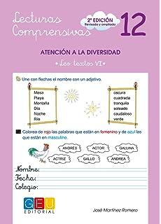 Lecturas comprensivas 12 - Leo Textos VI
