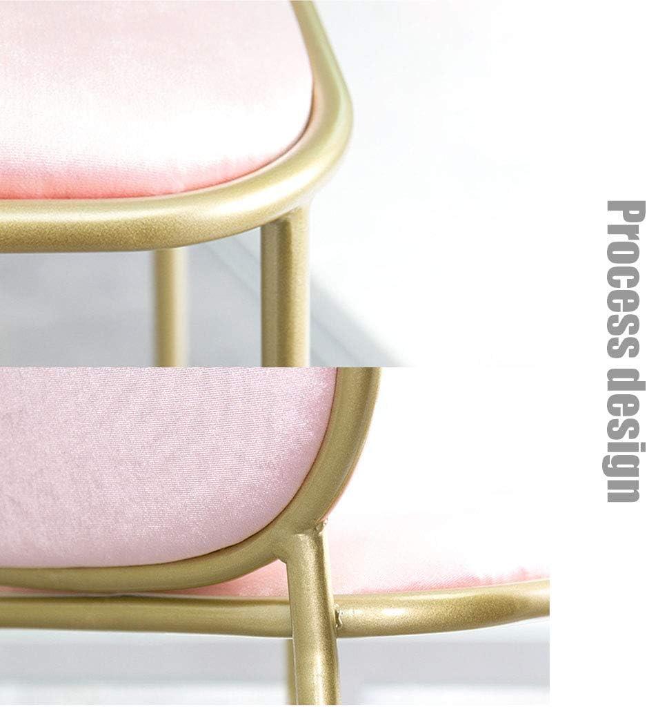 SYue Hauteur du comptoir 72 cm de Hauteur tabourets de Bar chaises de Salle à Manger avec Dossier, Pied en métal et Coussin en Velours Green