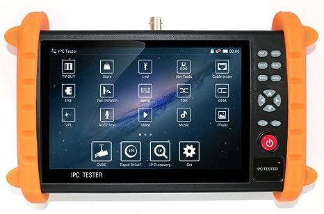 CCTV cámara de seguridad HDMI Monitor Probador, IPC Ethernet Cable Prueba de velocidad con pantalla