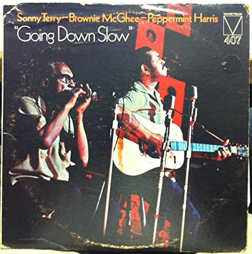 Peppermint Brownie - SONNY TERRY & BROWNIE MCGHEE & PEPPERMINT HARRIS GOING DOWN SLOW vinyl record