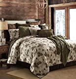 HiEnd Accents Forest Pine Comforter Set, Queen