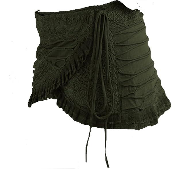 Gekko Steampunk Falda, PSYTRANCE Miniskirt, Falda, Pixie Falda ...