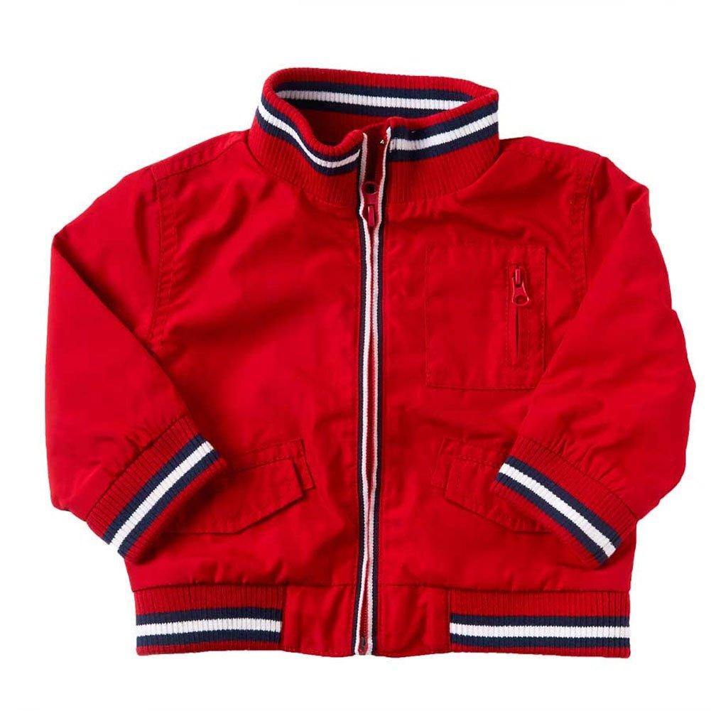 K /& K Baby Boys Red Baseball Style Jacket