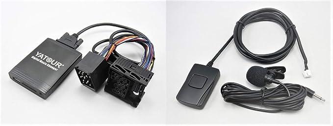 Yatour Bluetooth Adapter Musik Freisprechfunktion E46 E39 E38 Business Bm24 Rundpin