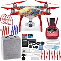 DJI Phantom 4 Camera Drone - Chinese New Year Limited Edition Bundle