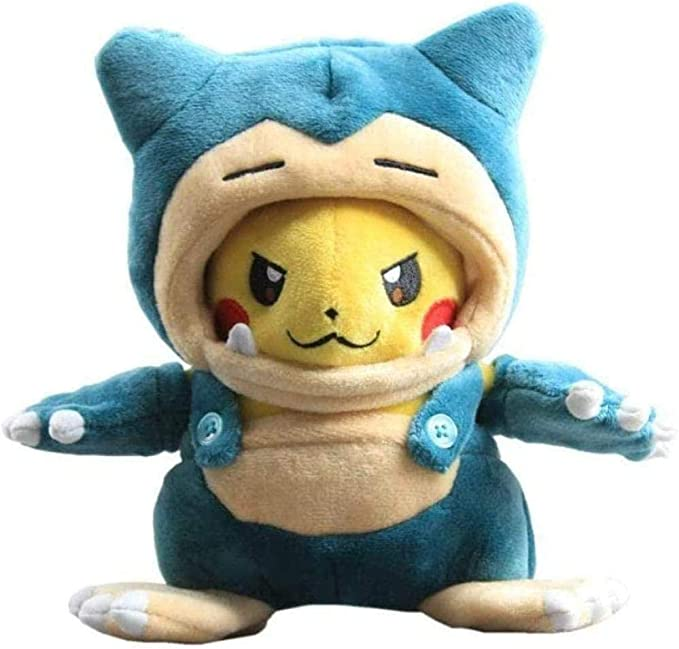 8 Inch Pok/émon Center Snorlax Pok/é Maniac Costume Pikachu Pok/é Plush
