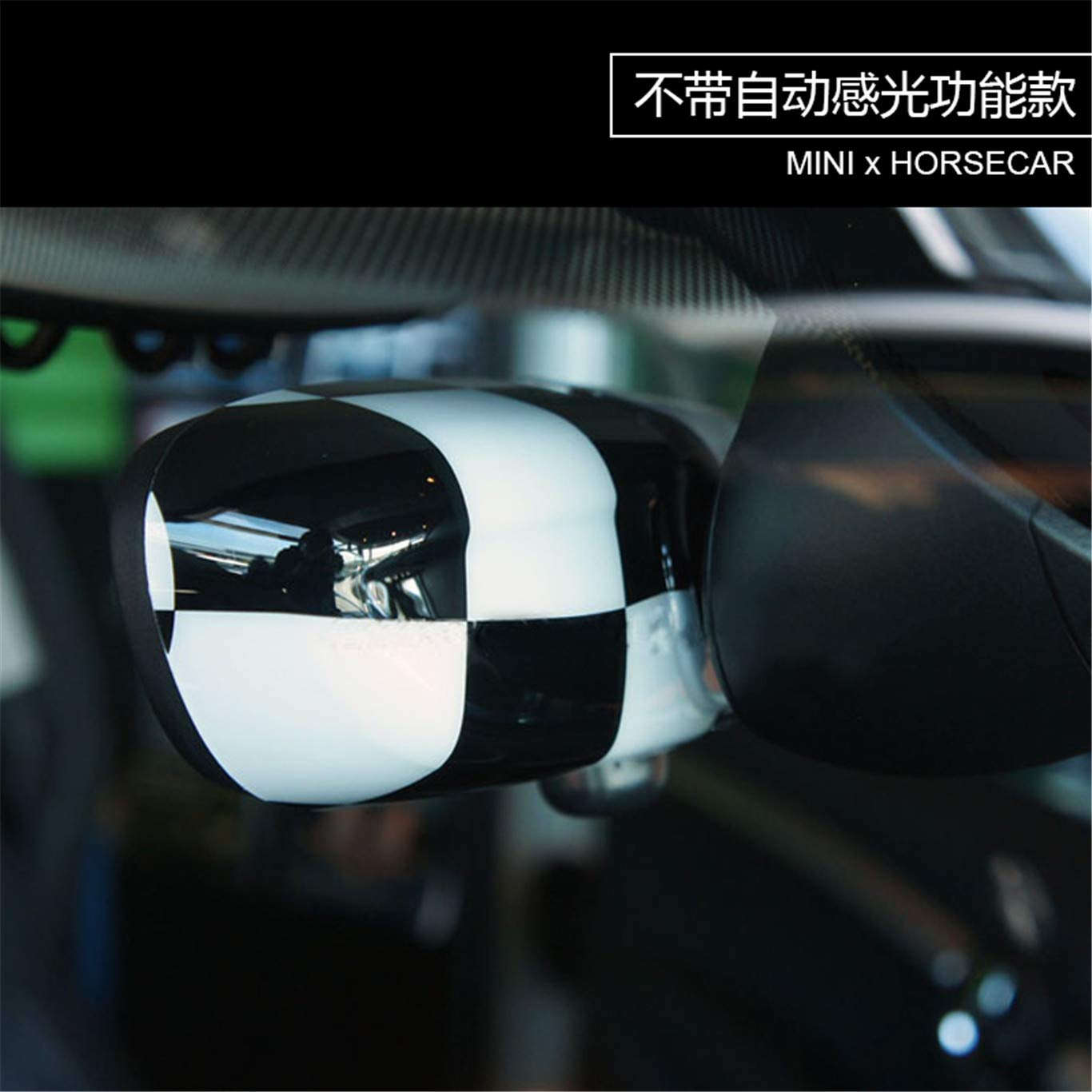 HDX Tapa de Espejo retrovisor Interior para Mini Cooper F54 Clubman F55 Hardtop F56 Hatchback F57 Covertible F60 Countryman 2016+