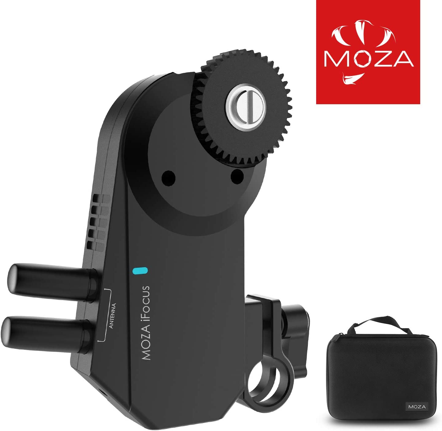 MOZA iFocus Wireless Follow Focus Motor Focus Controller for MOZA Air 2 MOZA AirCross 2 Gimbal Stabilizer Wireless DSLR Camera Lens Control System(iFocus)