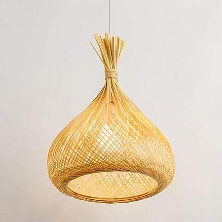 LZMXDD Lámpara de ratán Chino lámpara de Restaurante japonés Sola ...