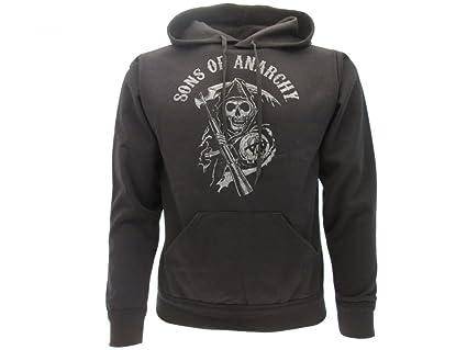 Sons of Anarchy - Sudadera con Capucha - Hombre: Amazon.es: Ropa y accesorios
