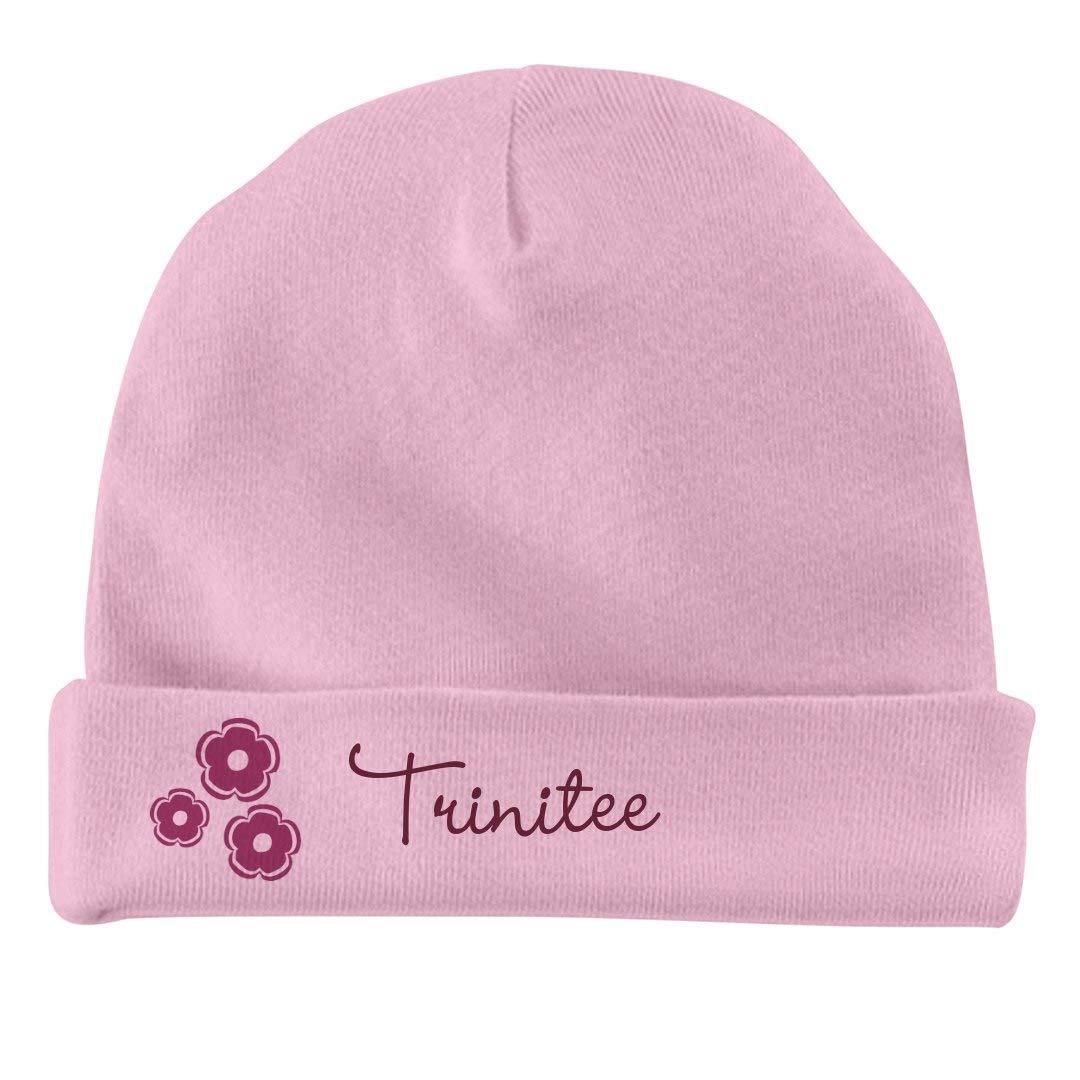 Infant Baby Hat FUNNYSHIRTS.ORG Baby Girl Trinitee Flower Hat