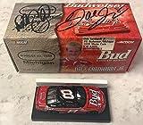 Dale Earnhardt Sr & Dale Earnhardt Jr Dual Signed 1999 Budweiser 1/64 Diecast - Autographed Diecast Cars