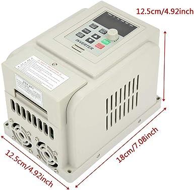 Frequenzumwandler Geschwindigkeitsregler Ac 2 2 Kw 220v Geschwindigkeitsregler Einphasig Frequenz Spannungsregler Motor Beleuchtung