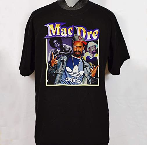 Amazon com: Vintage Inspired MAC DRE T-Shirt rap tee Gift for men
