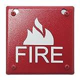 Space Age Electronics SSU00664 FB4 Fire Alarm Device Box, 4-Inch Square
