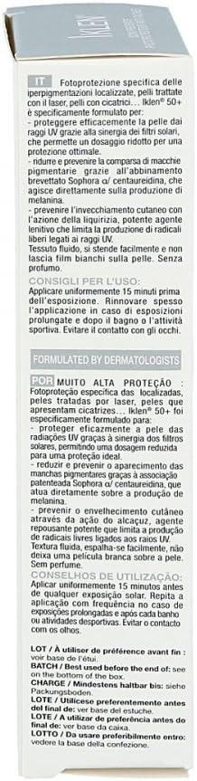 Iklen Protección solar SPF 50 + Crema 30 ml: Amazon.es: Salud y cuidado personal