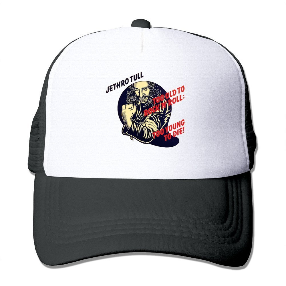 Negro Jethro Tull Still Loving You esta era Cool gorro negro gorra bf7dbbb5e0e