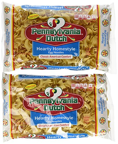 Pennsylvania Dutch Hearty Homestyle Egg Noodles, 12 Oz. Bag (Quantity of 2)