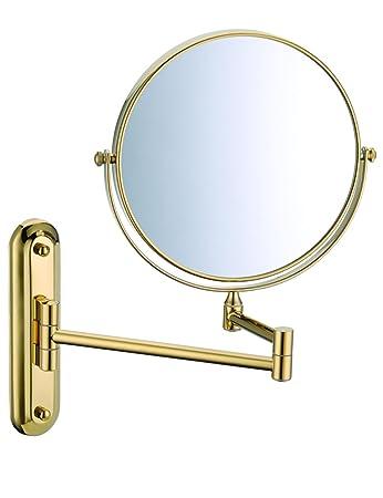 Tragbarer Mini-Spiegel Alle Copper Badezimmer Wand Make - up ...