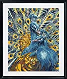 Plaid Creates Paint by Number Kit (16 by 20-Inch), 21700 Majestic Peacocks