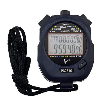 224fbfc2e5f8 LEAP Cronómetro Profesional Digital 2 Filas 10 Memoria