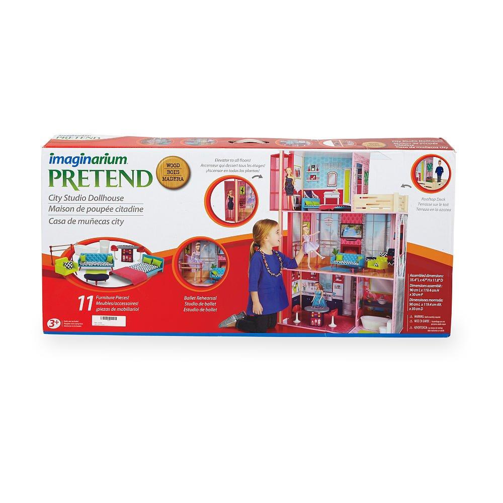 Amazon.com: Imaginarium City Studio Dollhouse: Toys & Games