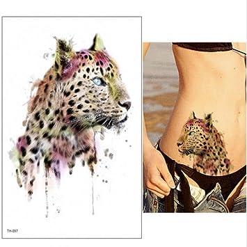 arte del tatuaje cabeza de león colorido del tatuaje del león y ...
