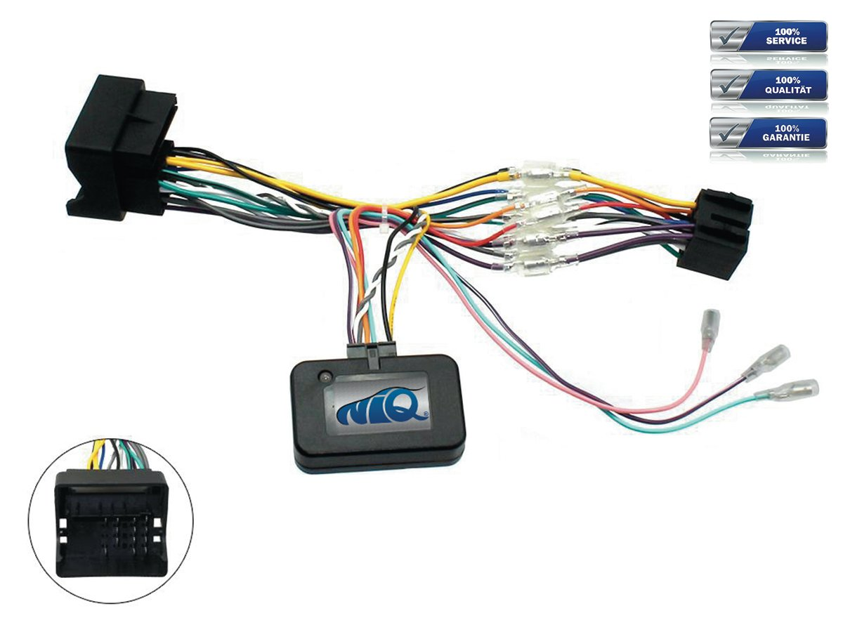 Berlingo uvm. C5 C8 C4 CAN-BUS Adapter f/ür Citroen C2 C3