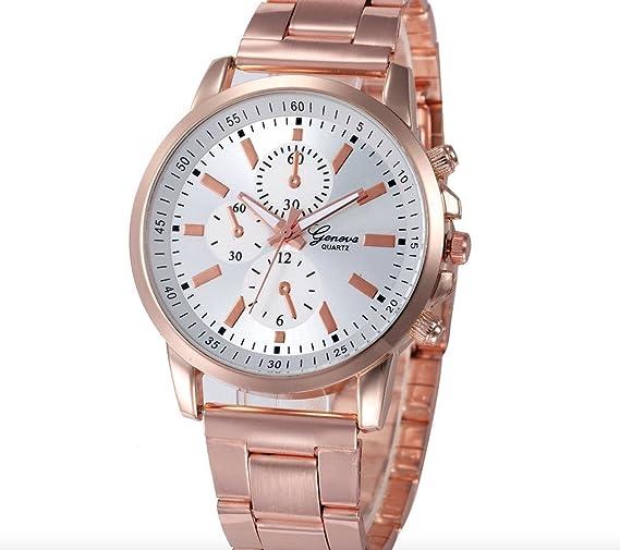 Reloj De Moda De Pulsera Acero Inoxidable Low Cost Para Mujeres Elegantes Relojes Baratos Alta Calidad