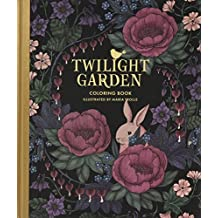 Twilight Garden Coloring Book: Published in Sweden as 'Blomstermandala'