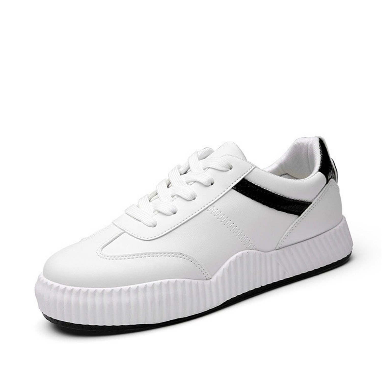 Amazon.com | Feilongzaitianba Students White Shoes Female Wild Casual Shoes Flat Women Shoes Zapatillas Mujer | Flats