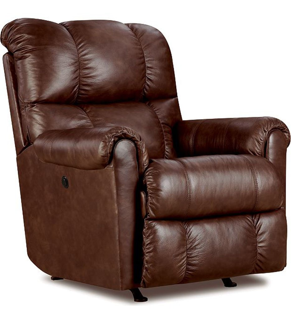 Amazon.com: Lane Furniture Eureka Recliner In Savage Cocoa Brown: Kitchen U0026  Dining