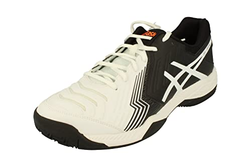 ASICS GEL GAME 6 CLAY NEGRO BLANCO E706Y 0190: Amazon.es: Zapatos y complementos