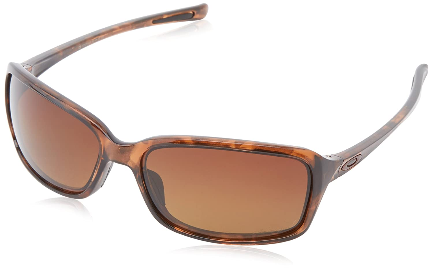 Oakley - Gafas de sol Rectangulares Dispute para mujer, brown