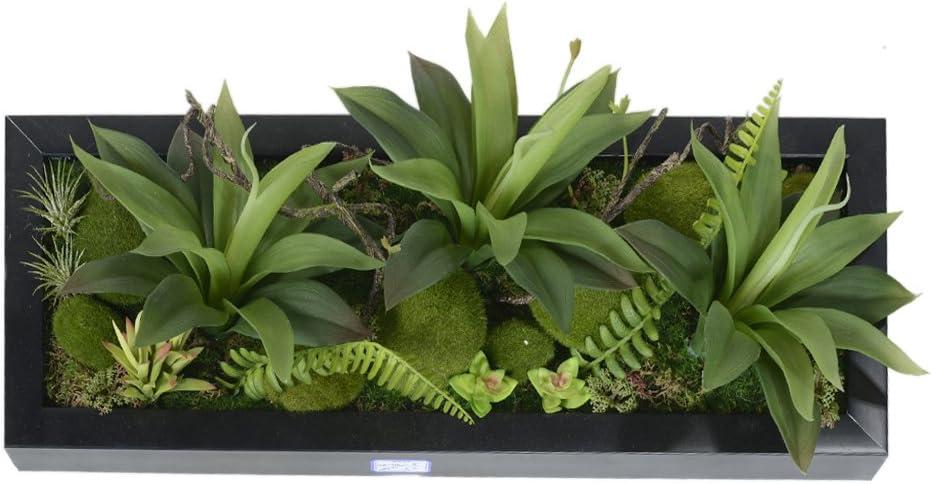 cadre végétal artificiel