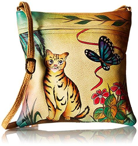 anuschka-anna-by-handpainted-leather-slim-crossbody-cat