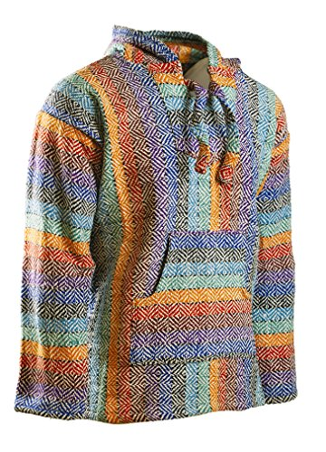 Funny Guy Mugs Premium Baja Hoodie Sweatshirt Pullover Jerga Poncho (Daydream, (Dream Hoody Sweatshirt)