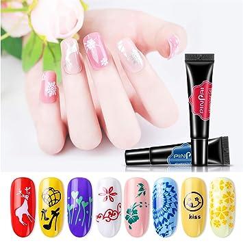 Artificial Nail Tips New Balls Please False Nails Health & Beauty Fake Nails Professional Fun Funny Design